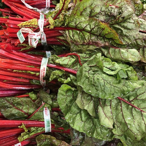 Chard, Red Swiss Chard, each