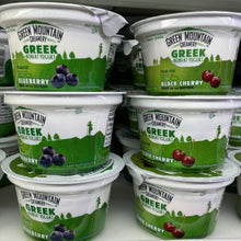 Load image into Gallery viewer, Yogurt, Green Mountain Creamery, Nonfat, Black Cherry, 5.3 oz.