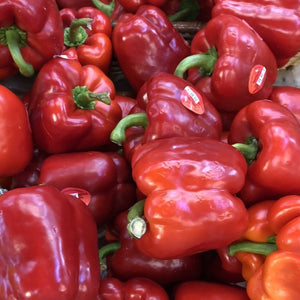 Peppers, Red Bell Peppers, lb.