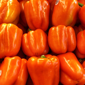 Peppers, orange, imported (lb.)