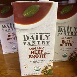 Broth, Organic Beef, 32 fl. oz.