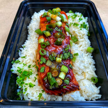 Load image into Gallery viewer, Dinner, Russo's Homemade Salmon Teriyaki