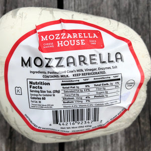 Cheese, Mozzarella House, 1 lb.