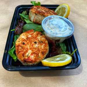 Dinner, Russo's Homemade New England Crab Cakes