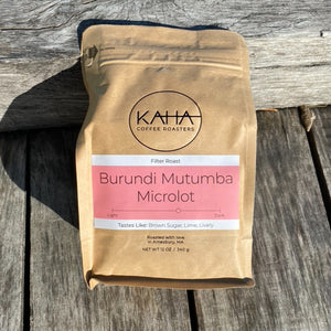 Coffee, KAHA Coffee, Burundi Mutumba Microlot, 12 oz.