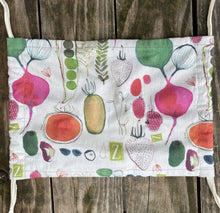 Load image into Gallery viewer, Mask (Fruits & Veggies pattern)