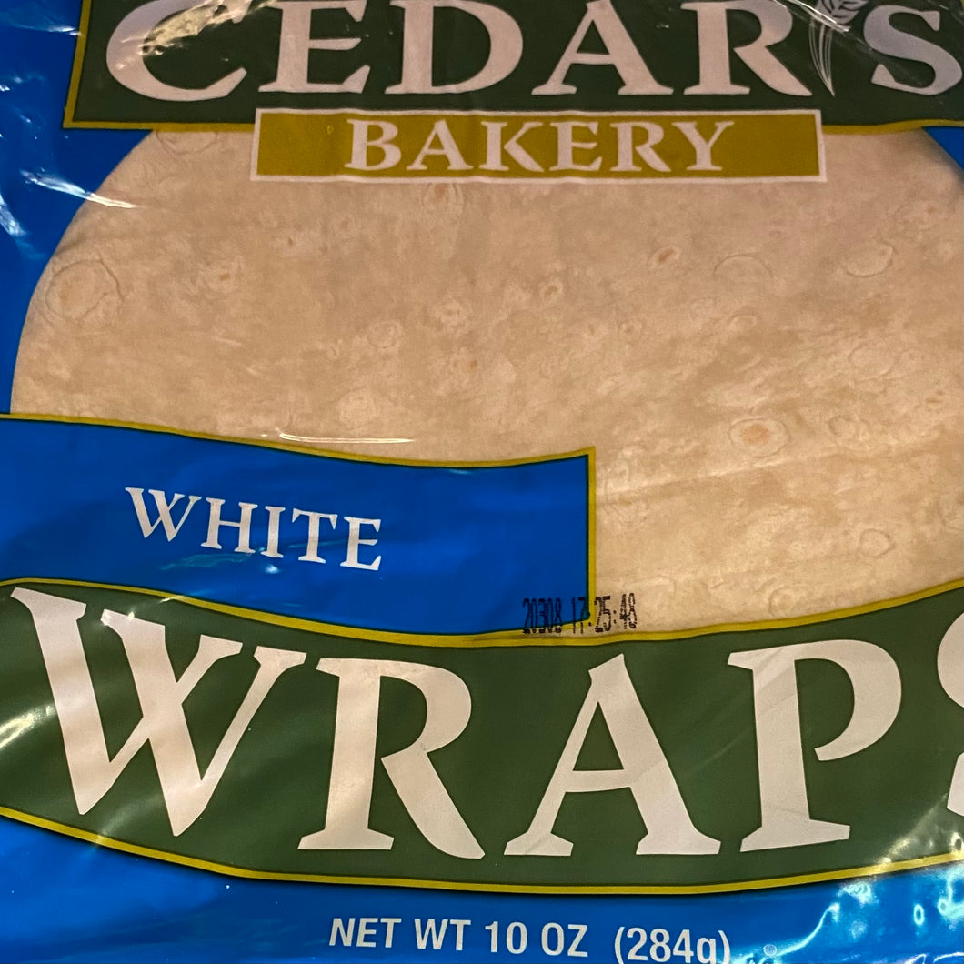 Wraps, Cedar's White, 10 oz.