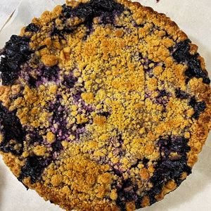 Pie, Blueberry