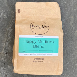 Coffee, KAHA Coffee, Happy Medium blend