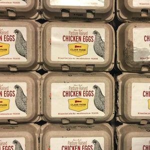 SPECIAL LIMITED AMOUNT: Pasture Raised Local *Organic Eggs, half dozen