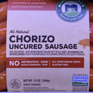 Niman Ranch Chorizo Uncured Sausage