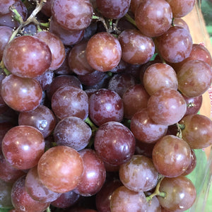 Grapes, Organic, Red Grapes, 2 lb. bunch