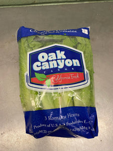 Lettuce, Romaine Hearts, 1 package