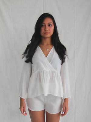 Byron Top Ivory