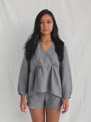 Byron Top Charcoal