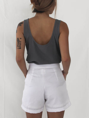 Fuji Short in White