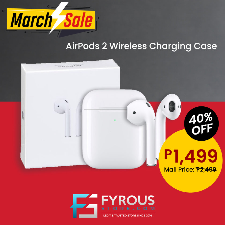 Airpods 2 With Rename Gps Brand New Oem Fyrous Store