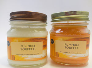 The Pumpkin Souffle Candle