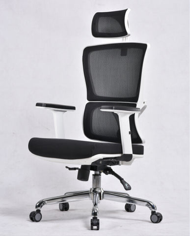 Executive Office Chair Mesh Back & Headrest