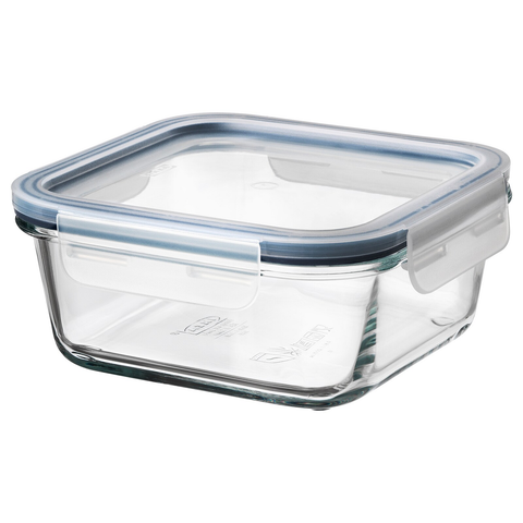 Food Container with Lid, Square