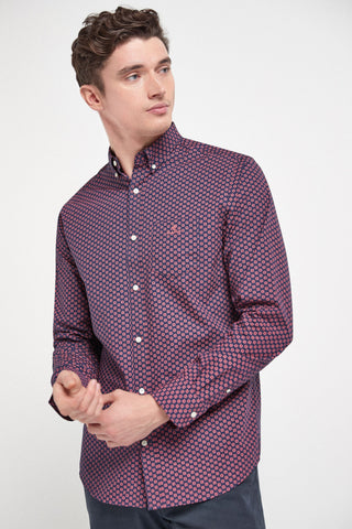 GANT Regular Micro Star Shirt