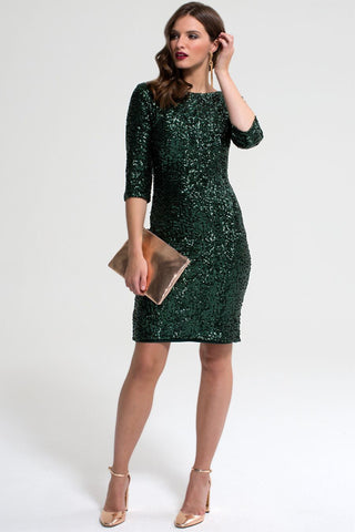 HotSquash Bottle Sequin Dress