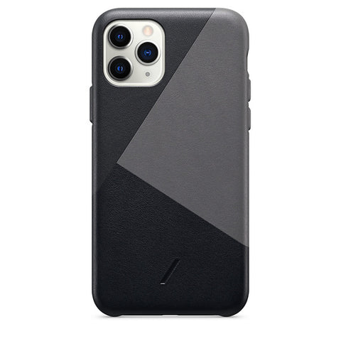 Native Union CLIC Marquetry Leather Case for iPhone 11 Pro