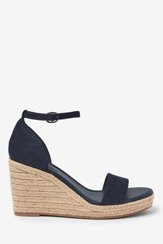 Two Part Espadrille Wedges