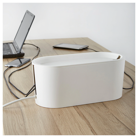 Cable Management Box with Lid (ROMMA)