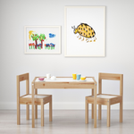 Children's Table with 2 Chairs (LATT)