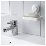 Soap Dish with Suction Cup (TISKEN)