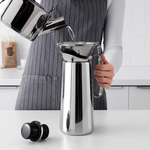 3-Piece Metal Filter Coffee Set (OVERST)