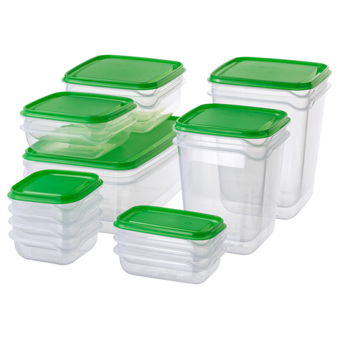 Food Container, Set of 17 (Pruta)