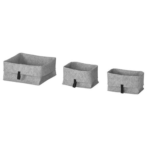 Basket, Set of 3 (RAGGISAR)