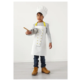 Children's Apron with Chef's Hat (TOPPKLOCKA)