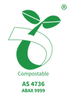 certified compostable logo