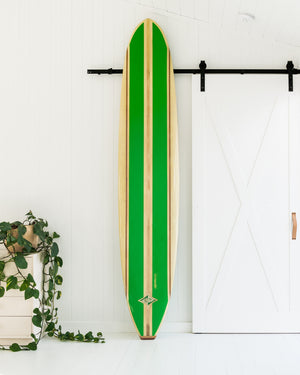 KLEM BELL - 9'8 Single Fin, Triple Stringer
