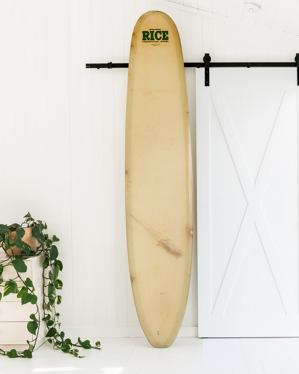 RICE - 9'6 Competition Single Fin, Longboard
