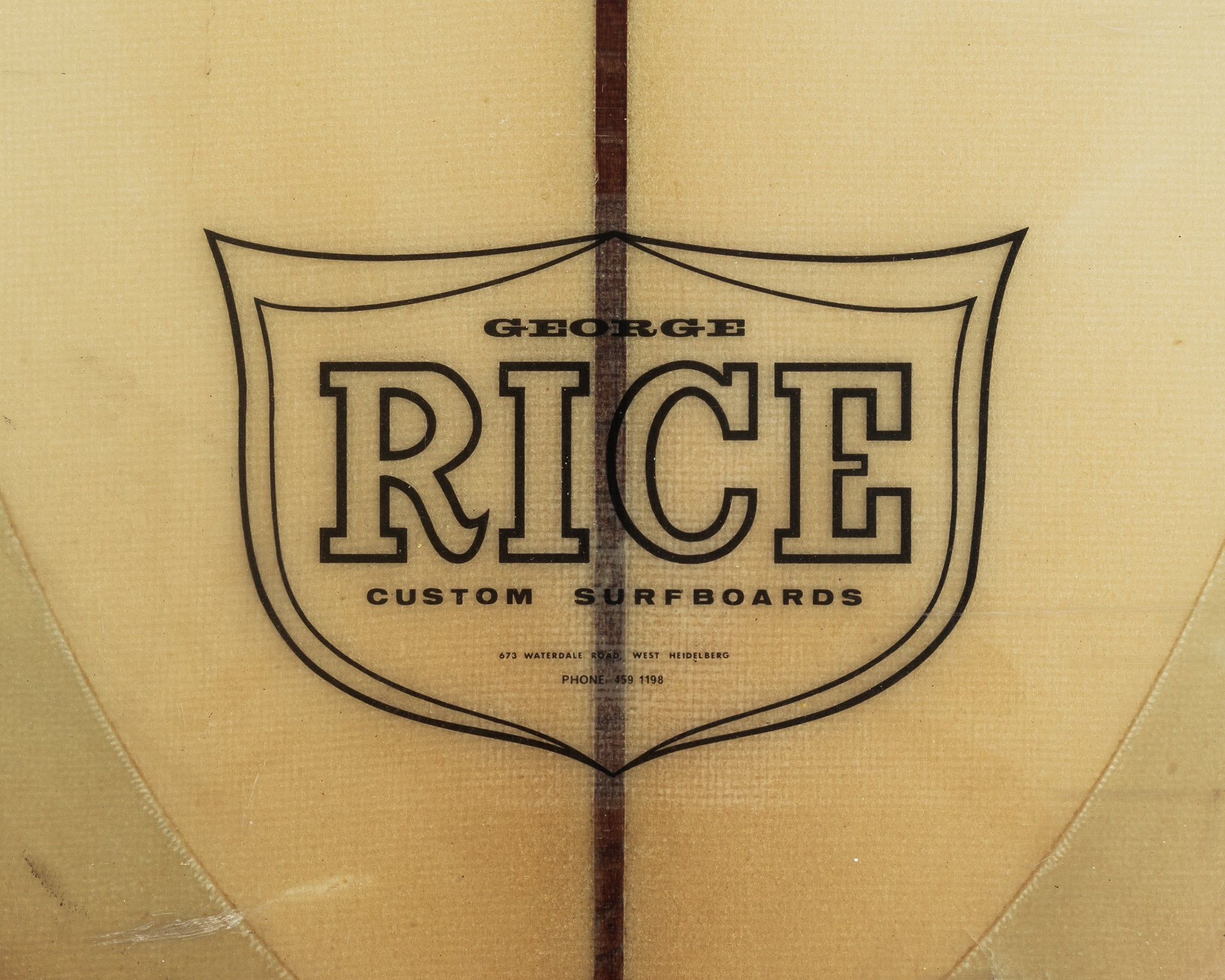 RICE - 9'6 Competition Single Raked Fin