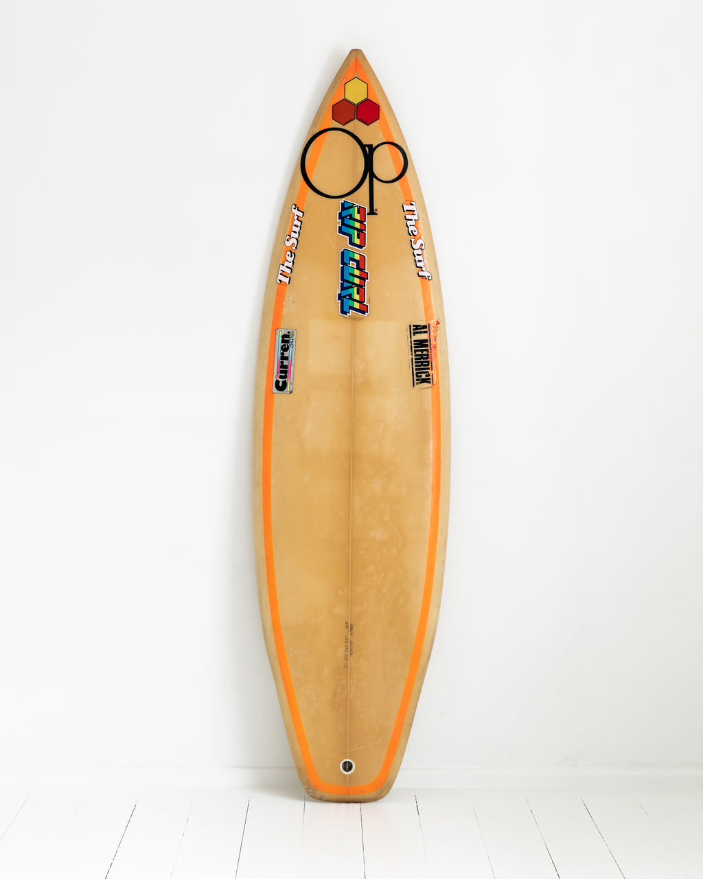 CHANNEL ISLAND - 5'10 Tom Curren, Red Beauty