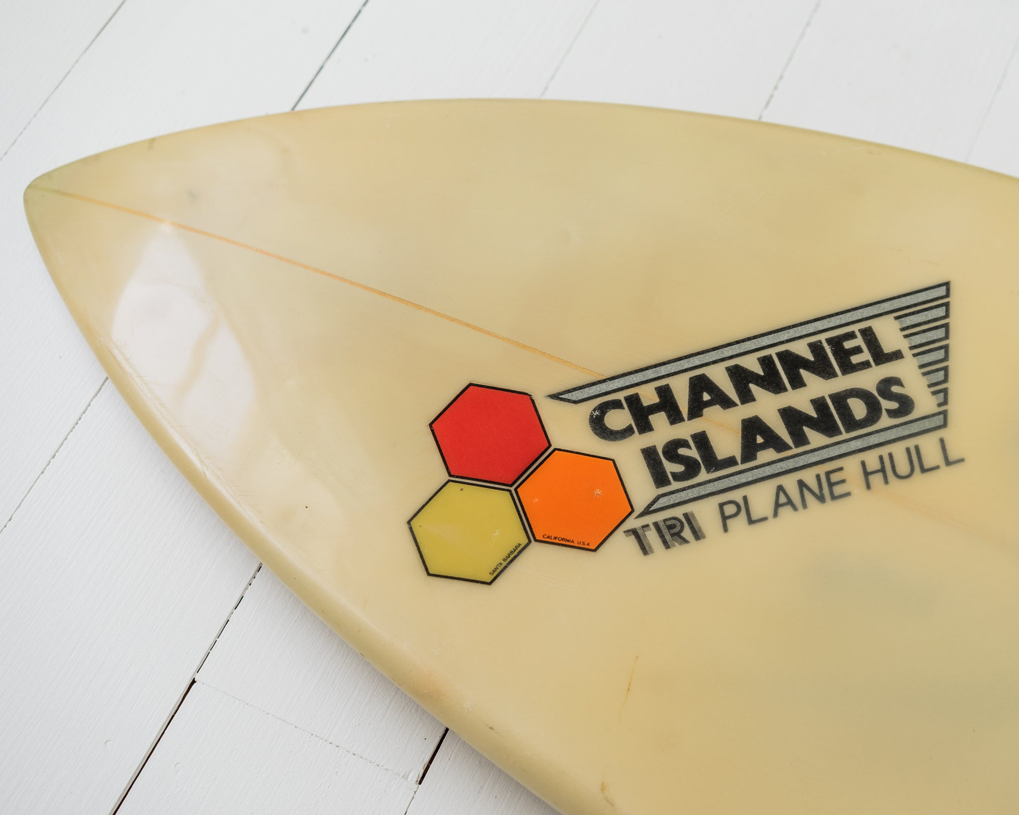 CHANNEL ISLAND - 6'0 Tri-plane Hull, Twin Fin