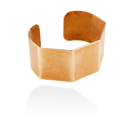 DECO HEX BANGLE