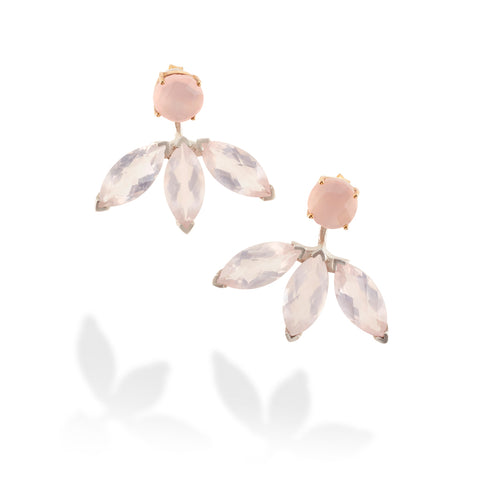 CALLA FRONT BACK EARRINGS