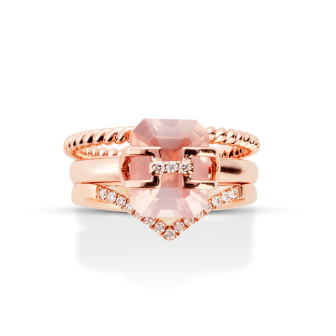 SAUVAGE RING PINK