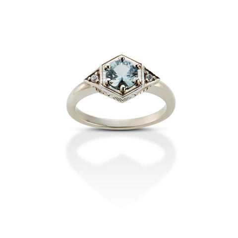 GATSBY RING WHITE