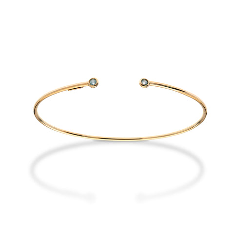 STACKED OPEN BANGLE