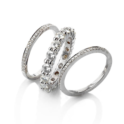 ERIN STACKING WEDDING SET