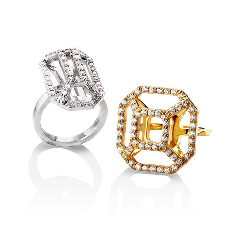 DECO LUXE RINGS - WHOLESALE