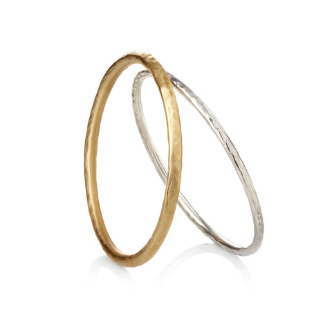 RAW HAMMERED BANGLES