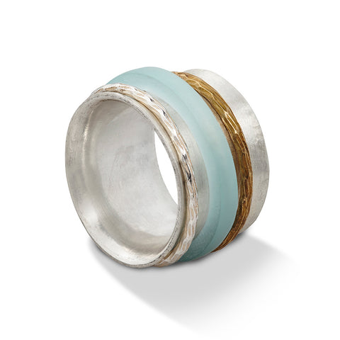 ACRYLIC SPUN RING - WHOLESALE